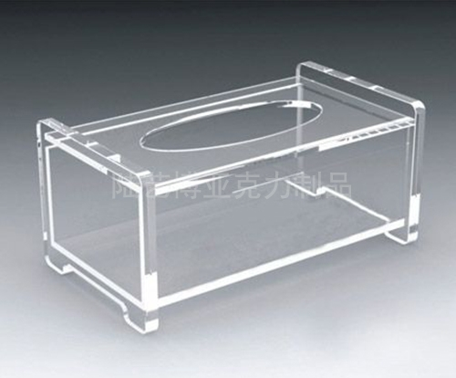 北海亚克力纸巾盒